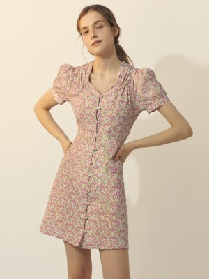 [BREEZE] Blooming Jane Dress_PINK (CTD1)