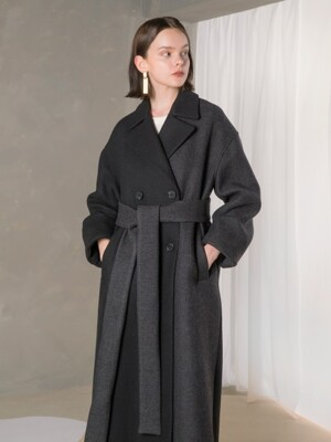 Half Block Coat_BK
