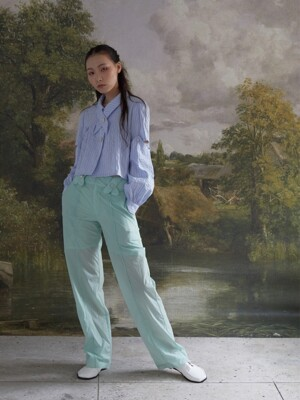 cross belt loop pants