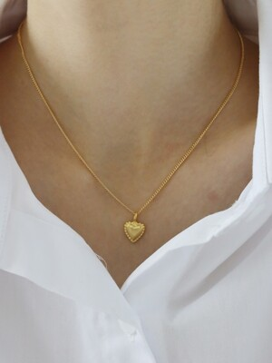 Dear little thing necklace (gold)