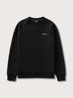 GOAL HEAVYWEIGHT SWEAT SHIRTS-BLACK