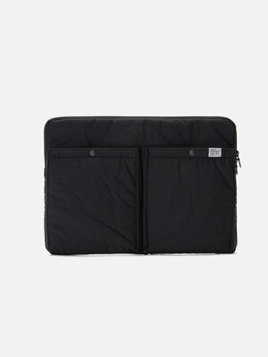 CITY BOYS LAPTOP CASE Black
