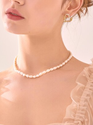 FRESH WATER PEARL NECKLACE (B)_NZ0982