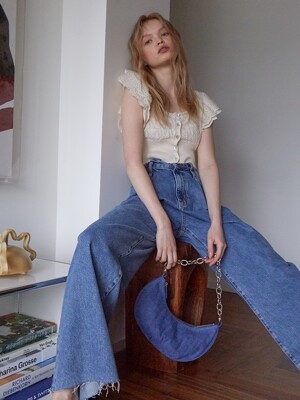 SHRIMP BAG, Denim Blue