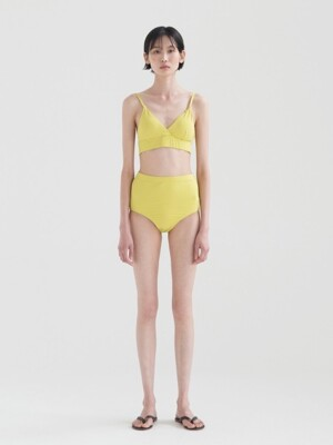 Triangle Bikini - Lime