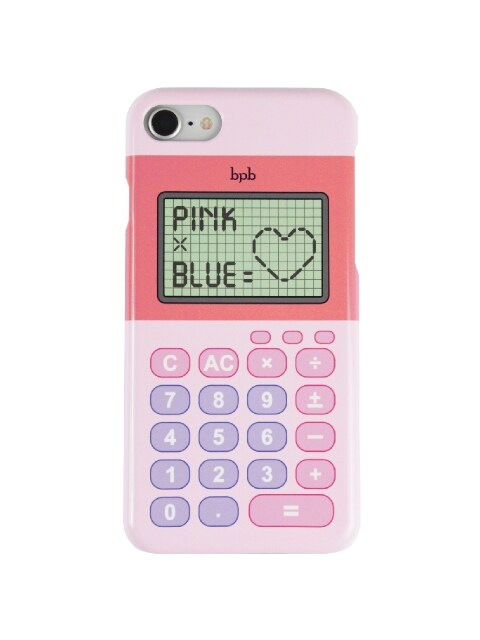 PINK X BLUE IPHONE CASE_PINK