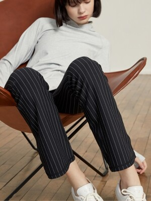 [PANTS] LB-001 BLACK N STRIPE