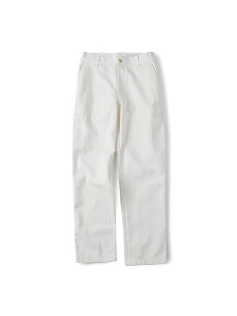 COTTON TOOL PANTS(WHITE DENIM)