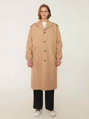 Manteau single coat Beige