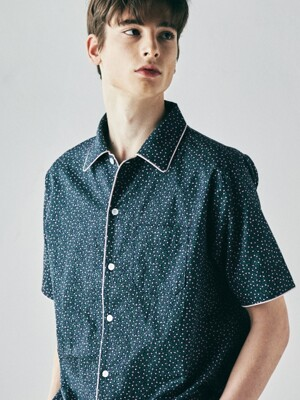 [M] Woody Short Sleeve PJ Set Cosmos