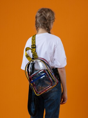 JOY SLINGBAG PVC CLEAR