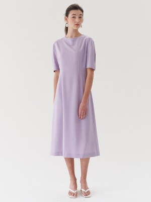 long dress-lightpurple