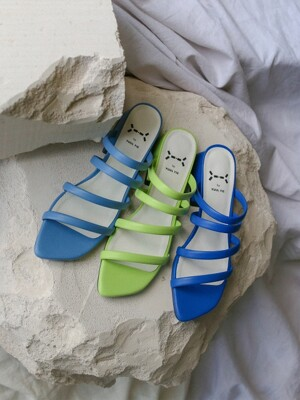 Sugar string mules 3cm / YY7S-S10 (6 colors)