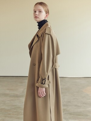 19FN volume trench coat [M/BE]