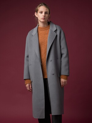 [FW19]Cashmere Oversized Coat (5color)