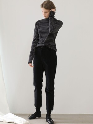 3.20 CORDUROY PANTS_BLACK