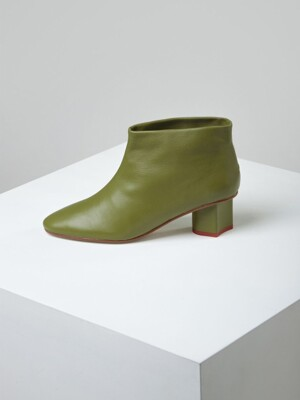 soft ankle boots(Olive tree)_OK3CX19101OLV