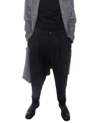 Silhouette Pants_Fluffy Black