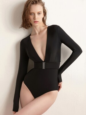 Black Suit Monokini