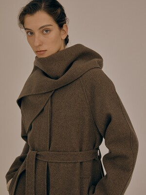 Muffler coat _3colors