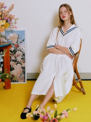 Sailor Marine Dress_White