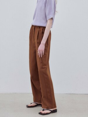 Tucked Wide Pants SW1ML241-93