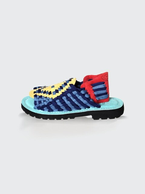 [WOMEN] AZTEC S80999 NAVY/SLATE BLUE/YELLOW/RED