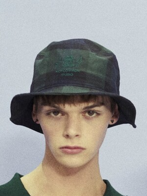 FROG BUCKET HAT GN