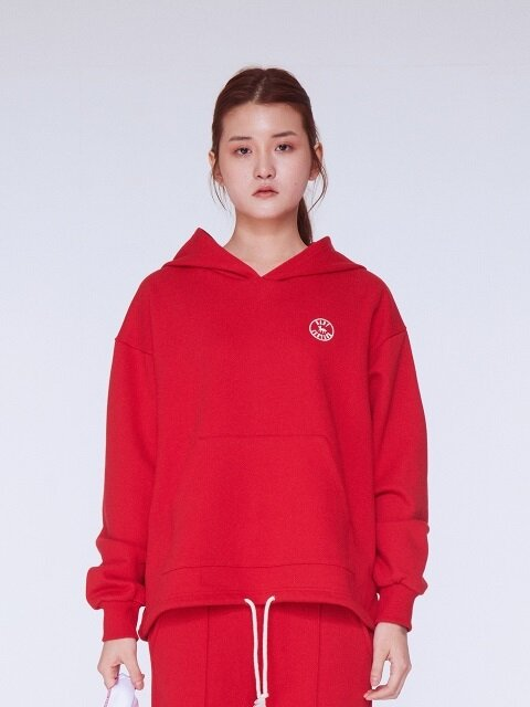 Baby Stamp Logo Hoodie [RED]