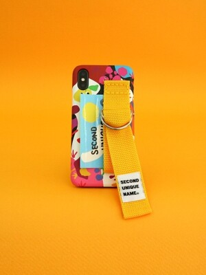 SUN CASE GRAPHIC FRUIT WHITE YELLOW (CARD)