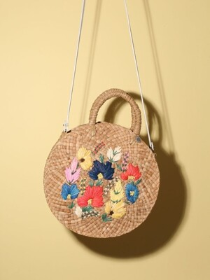 Circle Bag_Multi Flower