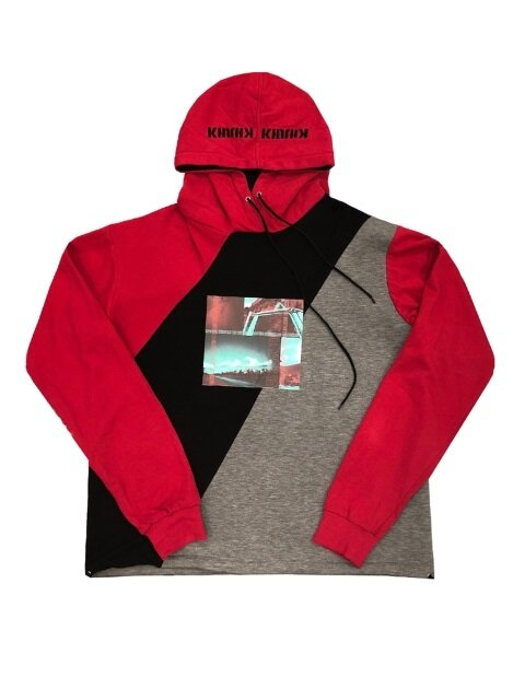 RED CUTTING HOODIES