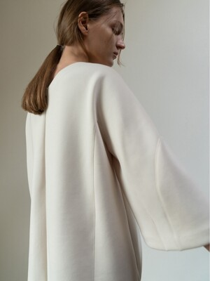 Neoprene Blouse_cream