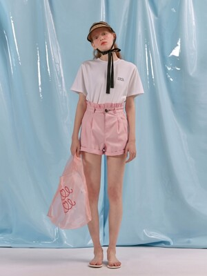 COLOR FRILL SHORTS_indi pink