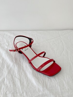 Meringue sandals 3cm / YY9S-S29 Red