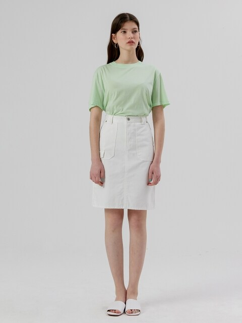 Pocket Skirt [White]