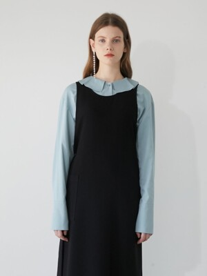 19' WINTER_CLOUDY MINT RUFFLE BLOUSE