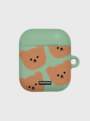 Dot big bear-pastel mint(Hard air pods)