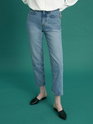 monts 1055 cropped jeans in light blue (light blue)