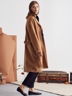 L S HANDMADE COAT(BROWN)