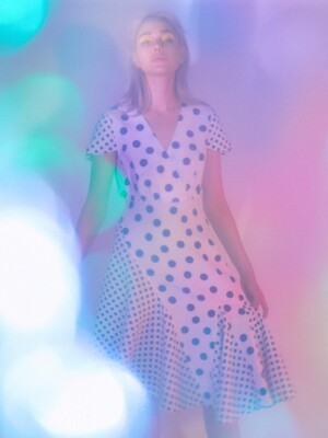 DOT DOT UNBALNCE DRESS