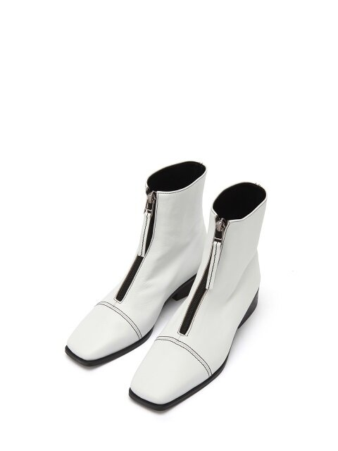 must_ankle boots white.