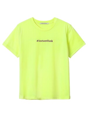 #Instantgram T-shirt(Yellow)