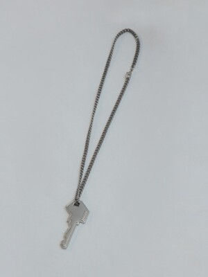 Ader key necklace [Long] Silver
