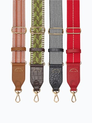 [ESSENTIAL BY UM] WEAVING WIDE STRAP - 3Colors