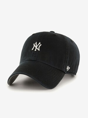 47Brand NY Small Logo Base Runner 47 CLEAN UP Black
