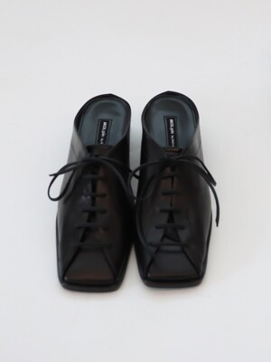 SQ backless loafer_black_20507
