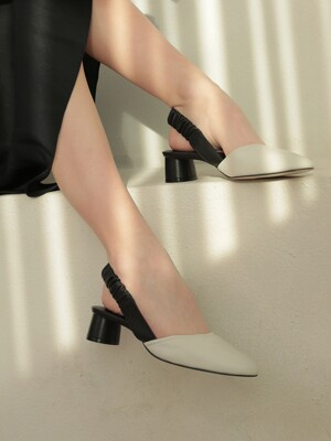 Scrunchie Slingback_Black