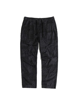 UTILITY EASY PANTS / BLACK JACQUARD