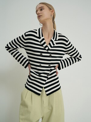 Dell Stripe Cardigan